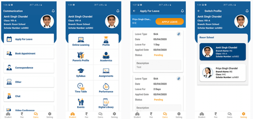 Education App Development case study rouvr