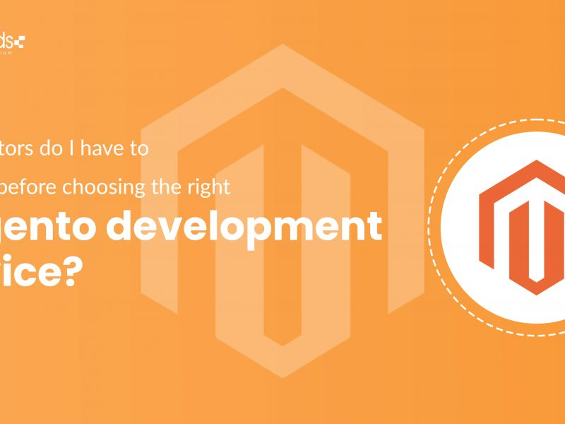 What factors do I have to consider before choosing the right magento development service